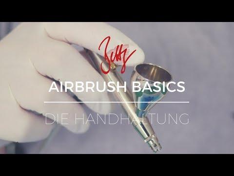 Airbrush Basics - Die Handhaltung | Betty´s Sugar Dreams