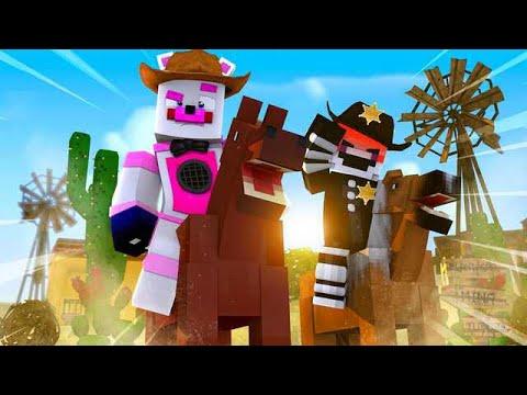 Funtime Freddy's Wild West Adventure! - Minecraft FNAF Roleplay