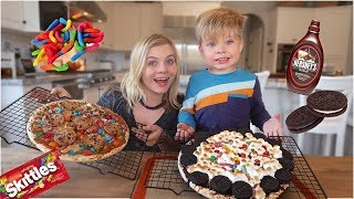 ULTIMATE PIZZA CHALLENGE! // SoCassie