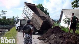 Dumptruck Jumping when unloading dirt