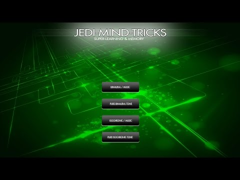 Jedi-Mind ✍ Super Learning & Memory ✍ Focus & Concentration Study Aid w/ Binaural Beats & Iso Tones
