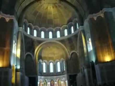Inside the Cathedral of Saint Sava (Belgrade)