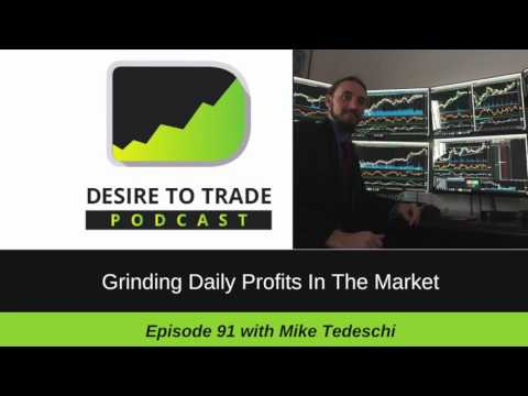 Mike Tedeschi: Grinding Daily Profits In The Market Every Day | Special Trader Interview