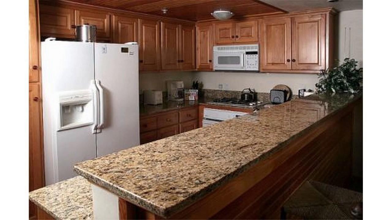 Diseño barato de la encimera de la cocina - YouTube