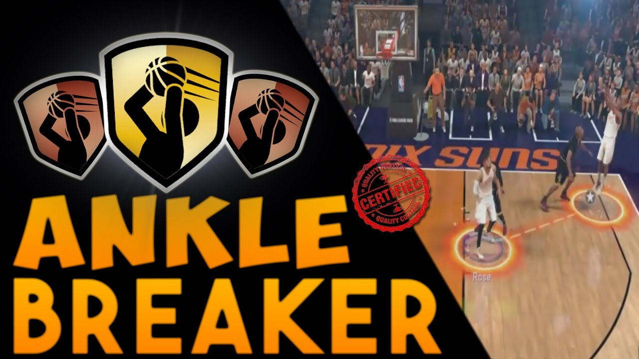 NBA 2K17 Badges | How To Get The Ankle Breaker Badge! THE OFFICIAL WAY TO  GET ANKLE BREAKER BADGE!!! - YouTube