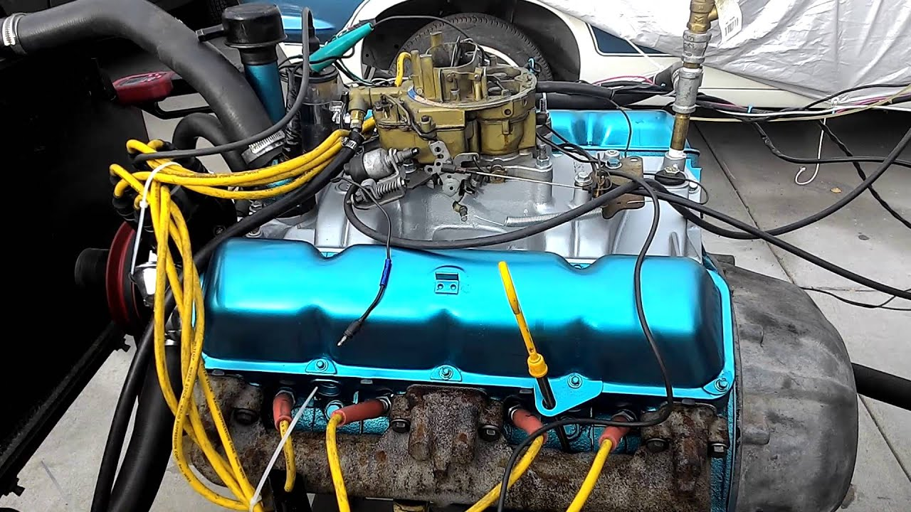 Rambler Marlin 343 Amc Engine Youtube