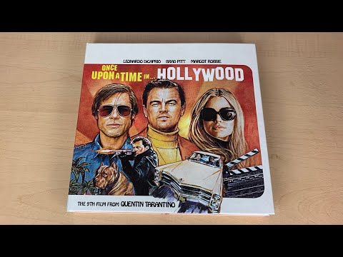 Once Upon A Time... In Hollywood - Collector's Edition 4K Ultra HD Blu-ray Unboxing