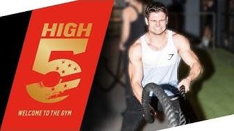 High5 Gym Test - Low Budget oder Luxus?