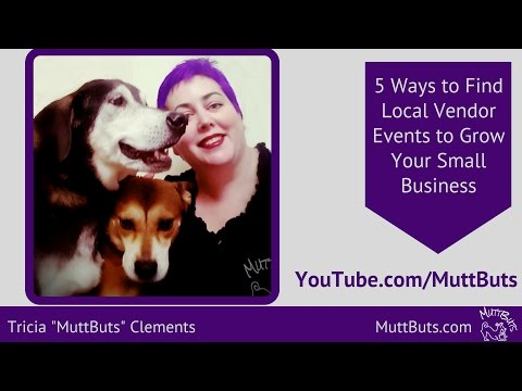 Vendor Events - 5 ways to find local events to grow your small business