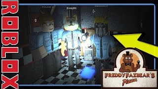 ROBLOX FNAF ROLEPLAY with friends! Blockbears game | Funny | Scary