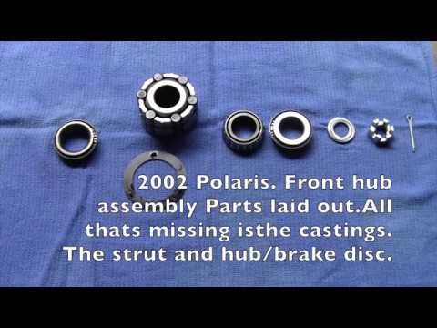 Polaris ATV Front Hub Assembly Scrambler Sportsman