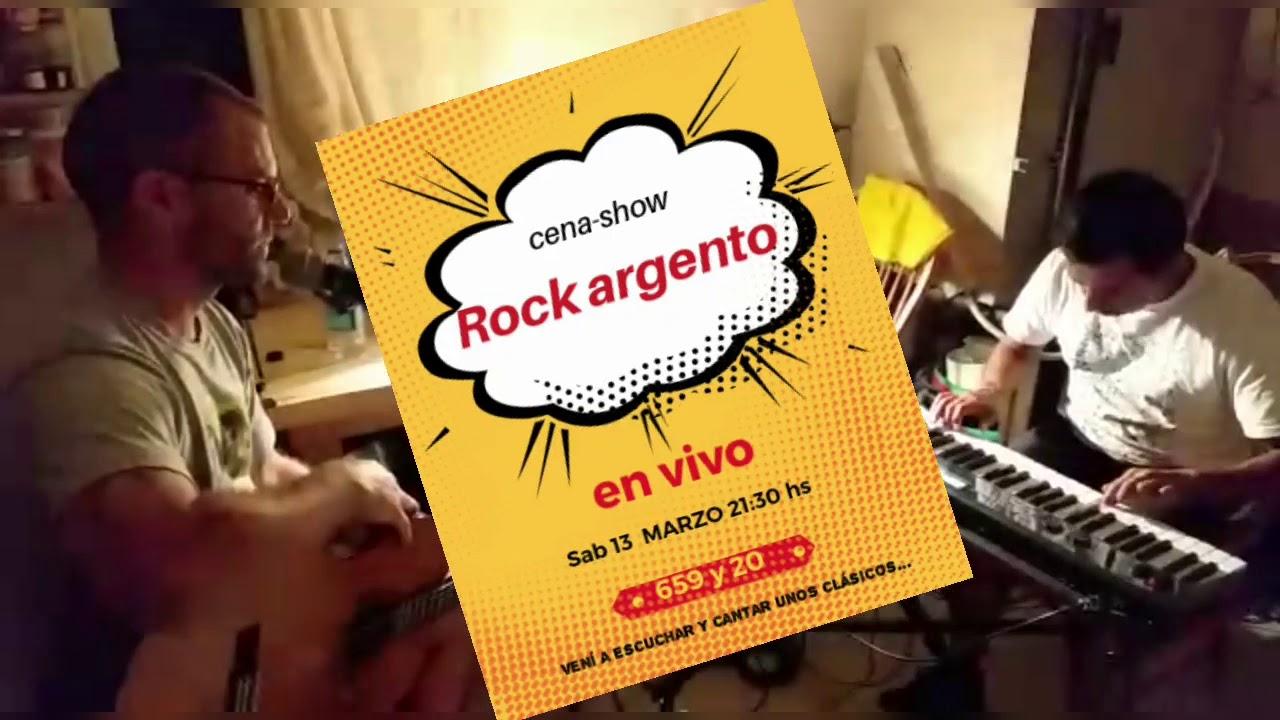 Rock Argento, este sábado en 20 y 659