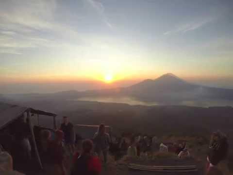 Sunrise from Mount Batur (Bali, Indonesia)