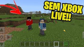 Como jogar com seu amigo no mcpe sem precisar de Xbox Live!!