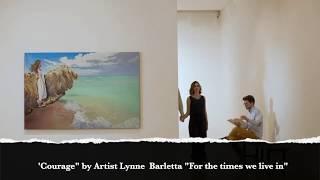 Courage by Artist Lynne Barletta