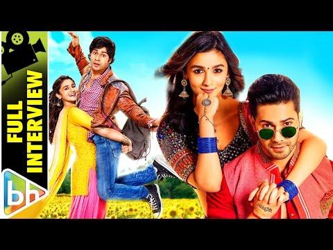 Varun Dhawan | Alia Bhatt | Badrinath Ki Dulhania | Full Interview | Sidharth Malhotra |
