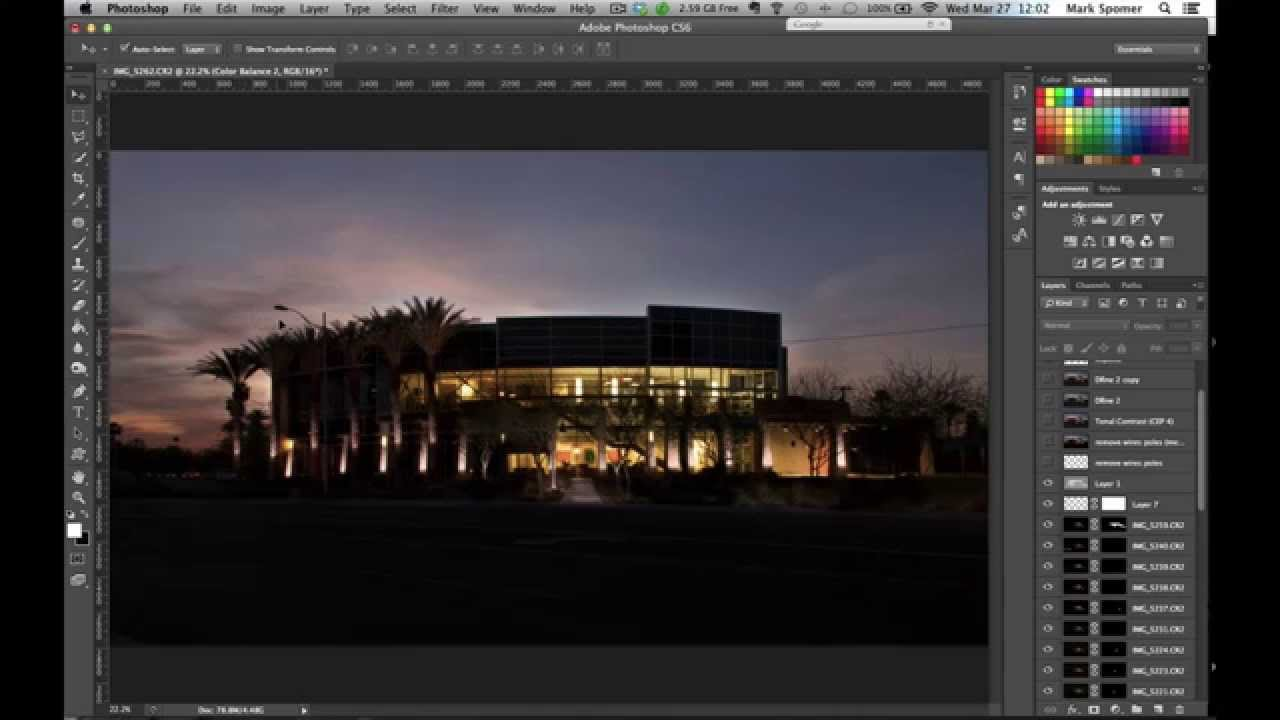 Architecture Photography Editing how i create dusk architecture photography: barrows in phoenix, az