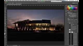 Comment je créer Crépuscule Photographie d'Architecture: les Castrats à Phoenix, AZ