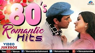 80's Romantic Hits Evergreen Bollywood Songs | JUKEBOX | Best Hindi Songs Collection