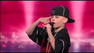 Repeat youtube video BEST 11 YEAR OLD RAPPER! AMERICAS GOT TALENT CJ DIPPA DALLAS