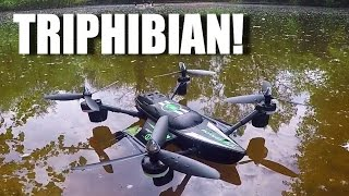 Quadcopter And Boat!