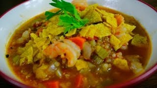 Cajun Shrimp And Quinoa Soup Recipe
