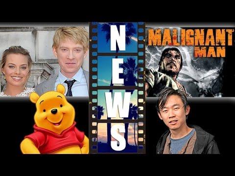 Goodbye Christopher Robin Domhnall Gleeson & Margot Robbie, James Wan's Malignant Man Movie