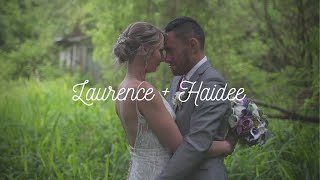 This is Laurence and Haidee || Gladstone, West Coast || Cinematic wedding highlight