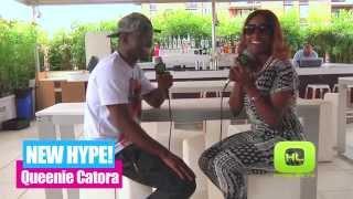 Queenie Catora (Good Kisser Remix) Interview - HypeLifeTV