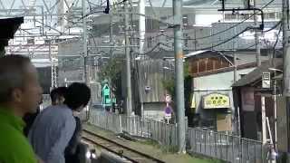 通過線に顔出してミュージックホーン鳴らされる奴wwww 岸辺駅 thumbnail