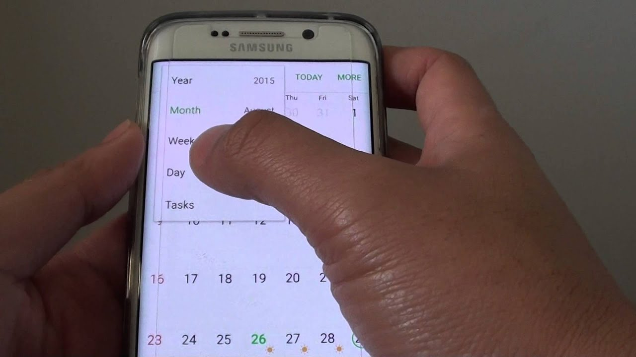 ... Have S Planner Calendar Display in Day / Week / Month / Year - YouTube