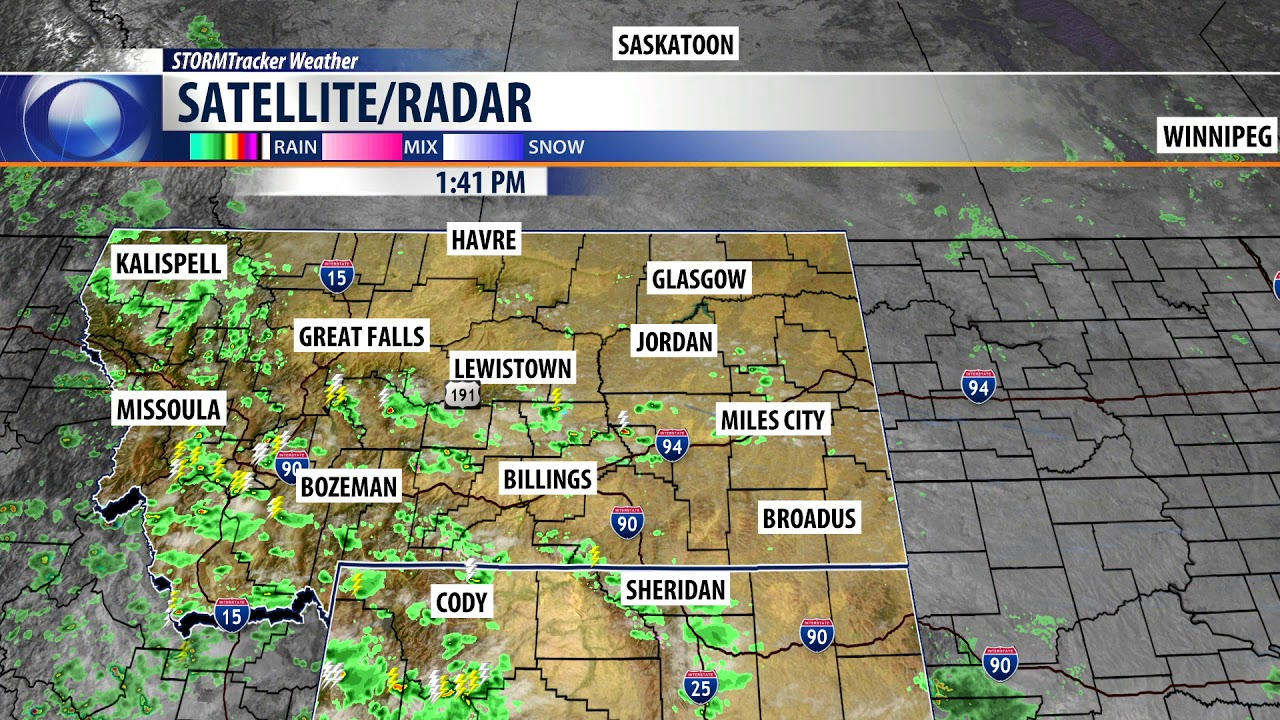 Q2 Weather: A typical weather pattern for Billings this week