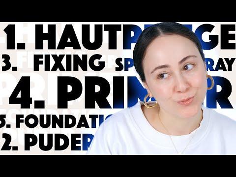 NIE wieder FETTIGE Haut?! Neue Foundation Makeup Routine ?