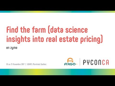 Find the farm -- data science insights into real estate pric