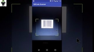 Android QR Code Scanner App