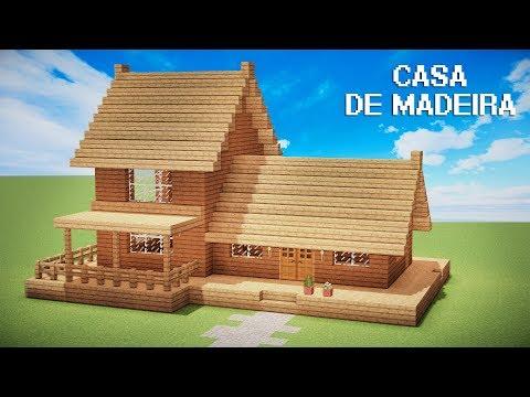 Minecraft Tutorial : CASA SÓ DE MADEIRA