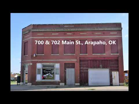 Commercial Building & Lot For Sale, Arapaho, OK 73620, Custer County
