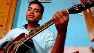 500 Miles fusion with Jab Koi Baat Bigad Jaye on Guitar Chords
