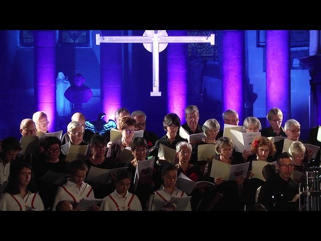 Final de l' Oratorio 'L'Enfant au cœur de colombe - Annonciation'