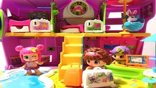 ألعاب بنات فندق بيني بون ألعاب أطفال  - زيارة لفندق بيني بون PinyPon Hotel Review