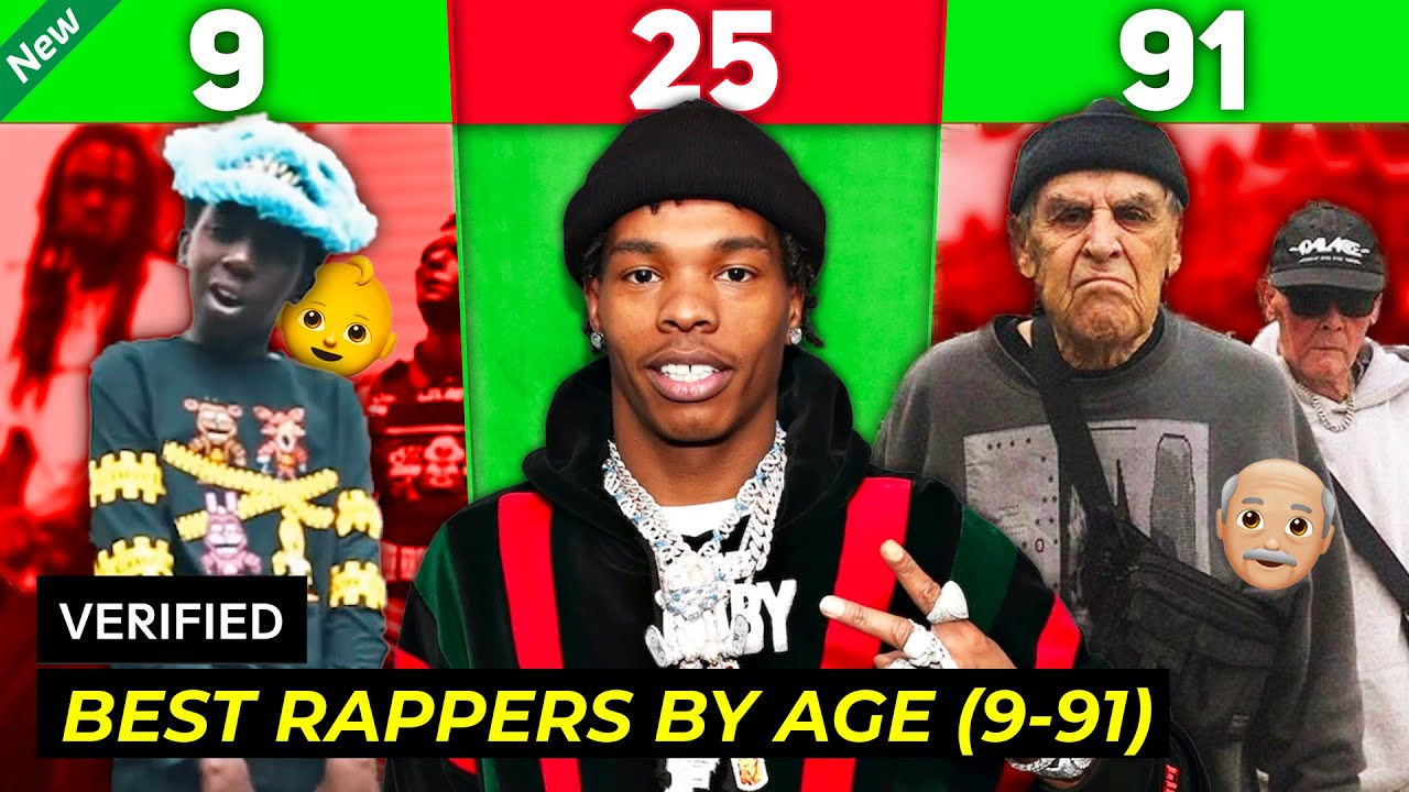 Download BEST RAPPERS BY AGE (9 - 91 Years Old)
