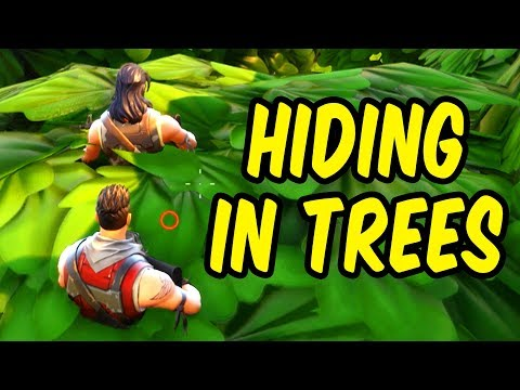 Hiding in Trees - Fortnite Battle Royale Funny Moments & Epic Stuff