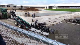Equipment demonstrations: Manure agitation boats