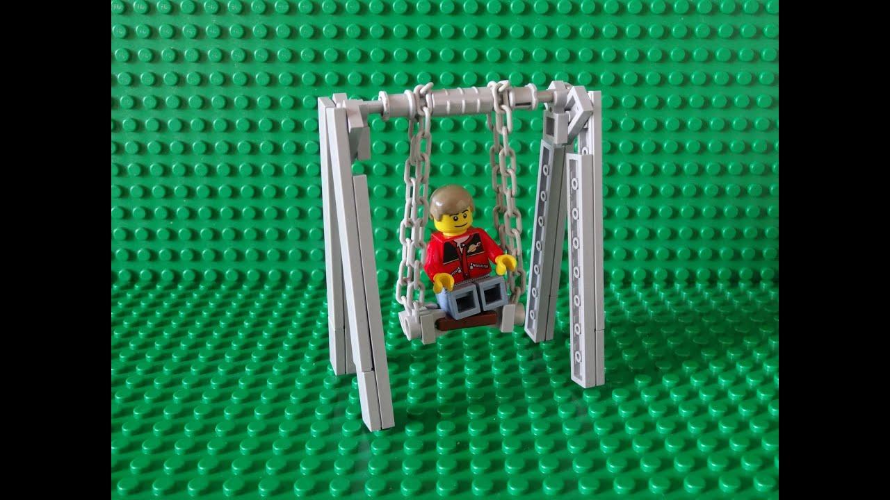 How Build Lego Swing Youtube