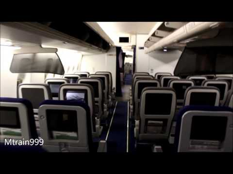 Lufthansa 747-400 cabin tour (V2)