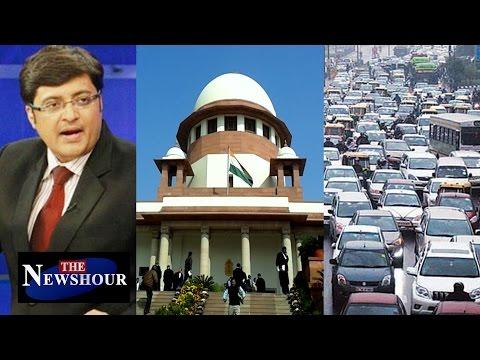 Bye Bye SUV | SC Bans Diesel SUVs In Delhi : The Newshour Debate (16th Dec 2015)