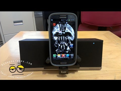 ILuv MobiAir Galaxy SIII/Android Bluetooth Speaker Dock Review