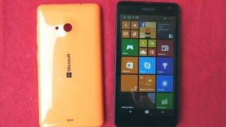 Microsoft Lumia 535 Dual Sim - бюджет Windows-смартфон - видео обзор(Microsoft Lumia 535 Dual Sim - первый смартфон под брендом Microsoft. Это бюджетная модель, но с двумя 5-мегапиксельными камер..., 2015-05-12T19:06:30.000Z)