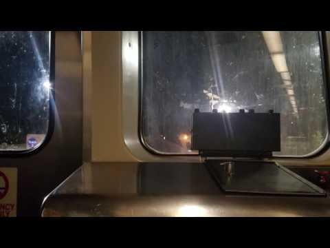 MTA MARYLAND:Metro Subway Full Ride Eastbound To Johns Hopkins Hospital