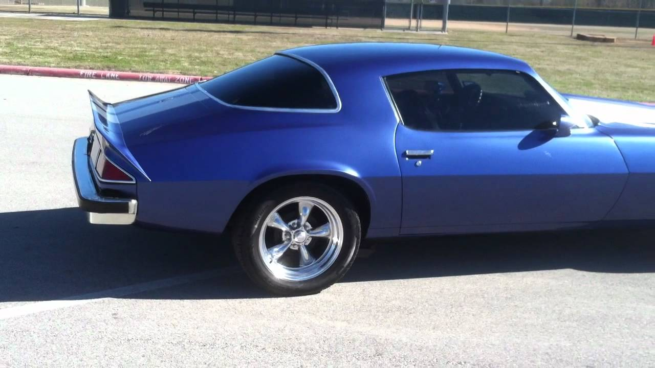 1975 chevy camaro fully restored for sale youtube. Black Bedroom Furniture Sets. Home Design Ideas